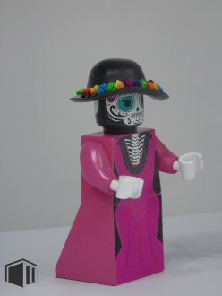The Mexican Death lady